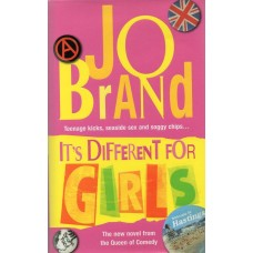 Jo Brand Autograph - It's Different For Girls - Hardback Book Signed - AFTAL