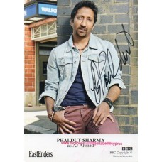 Phaldut Sharma Autograph - EastEnders - Signed 6x4 Cast Card - AFTAL