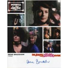 Irene Bradshaw Autograph - Signed 10x8 Photo - Handsigned and Genuine - AFTAL
