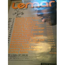 Lemar Autograph - Signed 33x23 Poster - Handsigned and Genuine - AFTAL