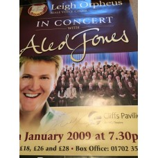 Aled Jones Autograph - Signed 28x19.5 Poster - Handsigned and Genuine - AFTAL