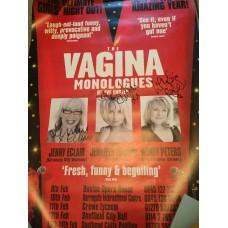 Jennifer Ellison, Wendi Peters & Jenny Eclair - Signed 28x20 Poster - AFTAL