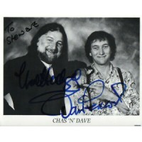 Chas N Dave Autograph - Signed 10x8 Photo - Handsigned - AFTAL