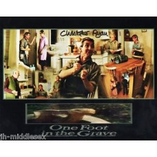 Christopher Ryan Autograph - One Foot In The Grave - Signed 10x8 Photo - AFTAL