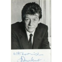 John Hurt Autograph - Harry Potter/Doctor Who - Signed 5.5x3.5 Photo 2 - AFTAL