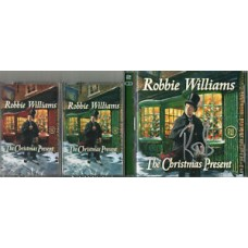 Robbie Williams Autograph - Christmas Present - CD Signed - 2 Discs - AFTAL