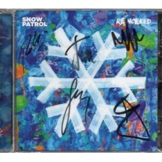 Snow Patrol Autograph - Reworked - CD Signed  - AFTAL - 3