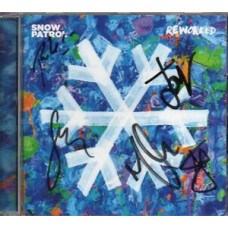 Snow Patrol Autograph - Reworked - CD Signed  - New - AFTAL - 5