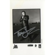 Tom Jones Autograph - Signed 5.5x3.5 Photo - Handsigned - AFTAL
