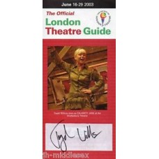 Toyah Willcox Autograph - Signed Flyer - Handsigned and Genuine - AFTAL - 3
