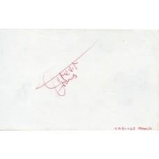Trevor Francis Autograph - England - Signed 6x4 Card - Handsigned - AFTAL