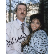 John Challis & Sue Holderness- Only Fools and Horses - Signed 10x8 Photo - AFTAL