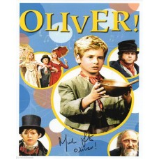 Mark Lester Autograph - Oliver - Signed 10x8 Photo 1 - Handsigned & Genuine - AFTAL