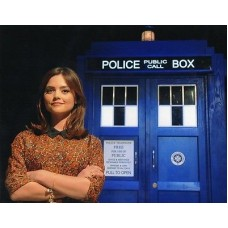 Jenna-Louise Coleman - Doctor Who - 10x8 Unsigned Still - Tardis 10