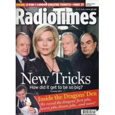James Bolam Autograph - Signed Radiotimes Magazine - Hand Signed & Genuine-AFTAL