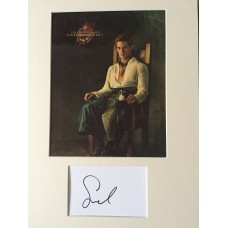 Sam Claflin Autograph - The Hunger Games - Signed 16x12 Mount - Handsigned - AFTAL