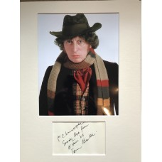 Tom Baker Autograph - Doctor Who - Signed 16x12 Mount - Handsigned and Genuine - AFTAL