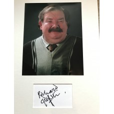 Richard Griffiths Autograph - Harry Potter - Signed 16x12 Mount - Handsigned and Genuine - AFTAL
