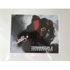 Terminator 2 - Judgment Day - Original Mounted Lobby Card 8