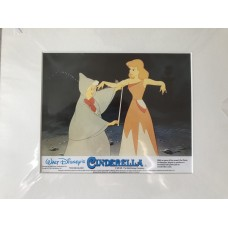 Cinderella - Disney - Original Mounted Lobby Card 1950
