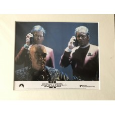 Star Trek VI: The Undiscovered Country - Original Mounted Lobby Card 1991 - 1