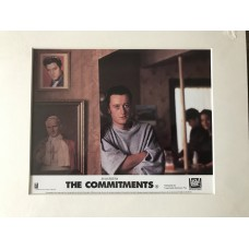 The Commitments - Original Mounted Lobby Card 1991 - 2