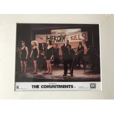 The Commitments - Original Mounted Lobby Card 1991 - 3