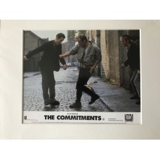 The Commitments - Original Mounted Lobby Card 1991 - 4