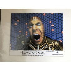 The Lawnmower Man - Original Mounted Lobby Card 3