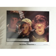 E.T. the Extra-Terrestrial - Original Mounted Lobby Card 1982 - 6