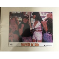 Wayne's World - Original Mounted Lobby Card 4