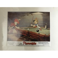 Pinocchio - Walt Disney - Original Mounted Lobby Card 4