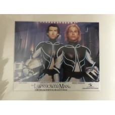 The Lawnmower Man - Original Mounted Lobby Card 2