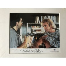 The Lawnmower Man - Original Mounted Lobby Card 1