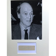 Roald Dahl Autograph - Signed 16x12 Mount - Handsigned - AFTAL