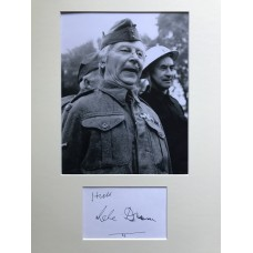 Clive Dunn Autograph - Dads Army - Signed 16x12 Mount - Handsigned - AFTAL