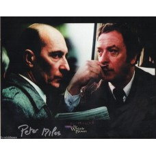 Peter Miles Autograph - Signed10x8 Photo - Handsigned and Genuine - AFTAL