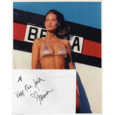 Manon von Gerkan Autograph - Signed Page & 10x8 Photo- Handsigned - AFTAL
