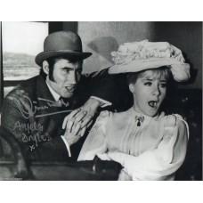 Jim Dale & Angela Douglas Autograph - Carry On - Signed 10x8 Photo - AFTAL