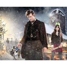 Jenna-Louise Coleman and Matt Smith - Doctor Who - 10x8 Unsigned Still 3