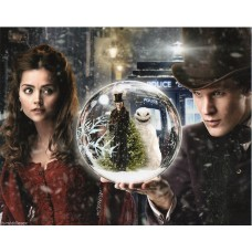 Jenna-Louise Coleman and Matt Smith - Doctor Who - 10x8 Unsigned Still 2