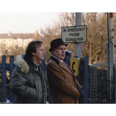 George Cole & Dennis Waterman - Minder - 10x8 Unsigned Still