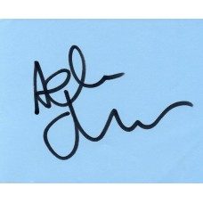 Adrian Chiles Autograph - Signed Page - Hand Signed and Genuine - AFTAL