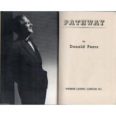 Donald Peers Autograph - Pathway - Vintage Hardback Book Signed - AFTAL