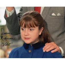 Denise Nickerson Autograph - Willy Wonka - Signed 10x8 Photo 3 - Handsigned -AFTAL