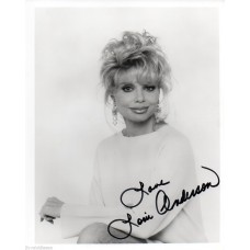 Loni Anderson Autograph - Signed 10x8 Photo - Handsigned and Genuine - AFTAL