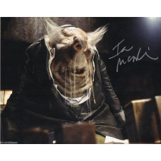 Ian McNeice Autograph - Hitchhikers - Signed 10x8 Photo 1 - Handsigned - AFTAL