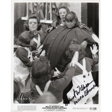 Albert Wilkinson - Willy Wonka - Signed 10x8 Photo 1 - Hand Signed - AFTAL
