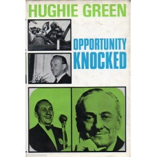 Hughie Green Autograph - Opportunity Knocked - Hardback Book Signed - AFTAL