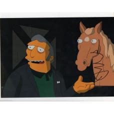 Joe Mantegna Autograph - The Simpsons - Signed 10x8 Photo - Handsigned - AFTAL